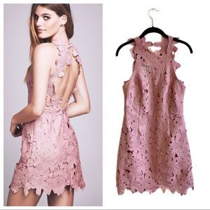 Saylor Free People Jessa mini lace dress